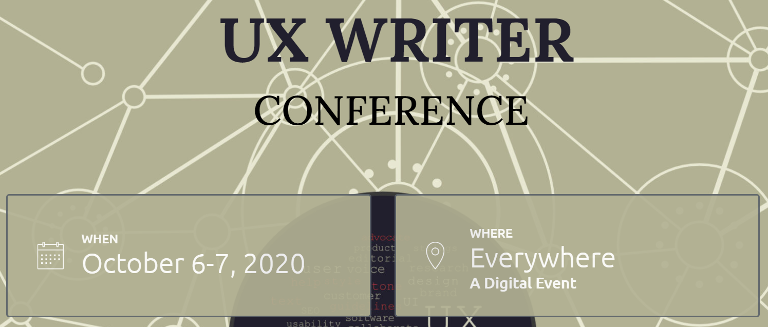 UX Writer Conference Logo